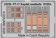 Boeing PT-17 Kaydet seatbelts STEEL #EDU33255