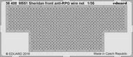 Armor- M-551 Sheridan Front Anti-RPG Wire Net for TAM #EDU36408