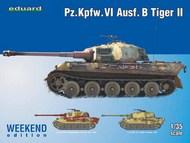 Eduard Models  1/35 Pz.Kpfw. VI Ausf. B Tiger II WEEKEND EDITION EDU3741