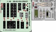 Boeing B-17F/B-17G Flying Fortress radio compartment SPACE #EDU3DL48024
