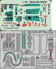 Mikoyan MiG-21bis SPACE #EDU3DL48026