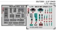 Let Z-37A SPACE 3D Decals with etched parts #EDU3DL72001