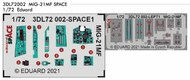 Mikoyan MiG-21MF SPACE 3D Decals with etched parts #EDU3DL72002