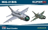 Eduard Models  1/144 MiG21BIS Fighter Dual Combo (Ltd Edition Plastic Kit) EDU4427