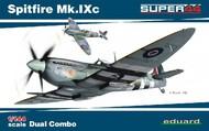 Eduard Models  1/144 Spitfire Mk IXc Fighter Dual Combo (Ltd Edition Plastic Kit) EDU4429