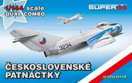 Eduard Models  1/144 MiG-15/15bis Czech Fighter Dual Combo (Ltd Edition Plastic Kit) EDU4441