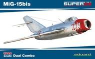 Eduard Models  1/144 MiG15bis Soviet Fighter Dual Combo (Ltd Edition Plastic Kit) EDU4442