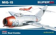 Eduard Models  1/144 MiG15 Fighter Dual Combo (Ltd Edition Plastic Kit) EDU4443