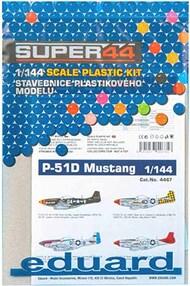 Eduard Models  1/144 North-American P-51D Mustang Super 44 edition EDU4467