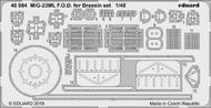 Aircraft- MiG-23ML FOD for EDU/Brassin Set #EDU48984