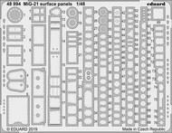 Aircraft- MiG-21 Surface Panels for EDU #EDU48994
