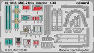 MiG-21bis interior #EDU491036