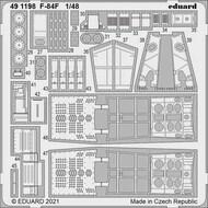 Republic F-84F Thunderstreak #EDU491198
