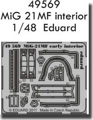 Eduard Models  1/48 Mig-21MF Interior  PE-SETS EDU49569