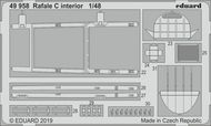 Dassault Rafale C interior (designed to be used with Revell kits) #EDU49958