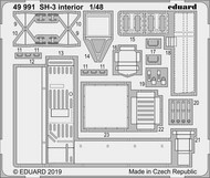 Aircraft- SH-3 Interior for HSG (Painted) #EDU49991