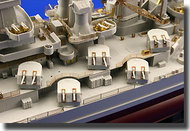 Eduard Models  1/350 USS BB-55 North Carolina Detail EDU53018