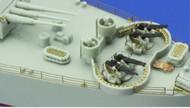Eduard Accessories  1/350 Ships- USS Indianapolis CA35 Railings for ACY EDU53105