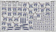 Eduard Models  1/200 Ship- WWII USN Sailors (Painted Self Adhesive) EDU53109