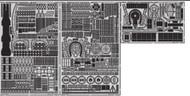 Eduard Models  1/200 Ship- USS Missouri Superstructure Pt.7 for TSM EDU53123