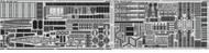 Eduard Accessories  1/350 Ship- Musashi for TAM EDU53133
