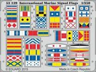 Eduard Accessories  1/350 Ship- International Marine Signal Flags (Painted) EDU53139