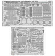 Eduard Accessories  1/350 Ship- USS CV5 Yorktown Cranes & Life Boats Pt.1 for Merit EDU53140