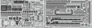 Eduard Accessories  1/350 Ship- USS CV5 Yorktown Superstucture Pt.3 for Merit EDU53142