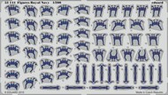 Eduard Accessories  1/200 Ship- Royal Navy Figures (Painted) EDU53144