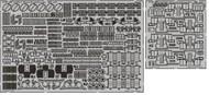 Eduard Accessories  1/200 Ship- HMS Hood AA Guns & Rocket Launchers Pt.1 for TSM EDU53187