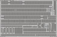 Eduard Accessories  1/200 Ship- HMS Hood Railings Pt.3 for TSM EDU53189