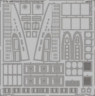 Eduard Accessories  1/48 Ship- DKM Type VIIC U552 U-Boat Hull Body Pt.3 for TSM EDU53195