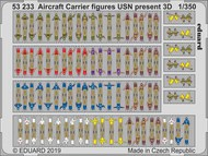 Aircraft Carrier figures USN present 1/350 #EDU53233