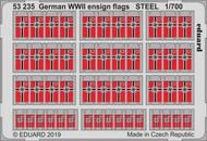 German WWII ensign flags STEEL #EDU53235