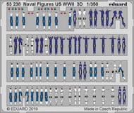 Ship- WWII US Naval Figures (Painted) #EDU53238