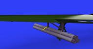 P-51D Bazooka Rocket Launcher (Photo-Etch & Resin) #EDU648577