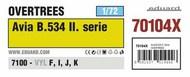 Avia B.534 II. serie OVERTREES #EDU70104X