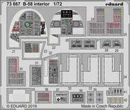 Aircraft- B-58 Interior for ITA (Painted) #EDU73667