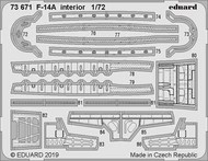 Aircraft- F-14A Interior for HBO (Painted) #EDU73671