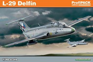 Eduard Models  1/48 L-29 Delfin Aircraft (Profi-Pack Plastic Kit) EDU8099