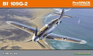 Eduard Models  1/48 Bf.109G-2 WWII German Fighter (Profi-Pack Plastic Kit) EDU82116