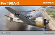 Eduard Models  1/48 Fw.190A-3 Fighter (Profi-Pack Plastic Kit) EDU82144
