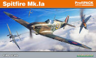 Supermarine Spitfire Mk.Ia Profipack edition kit of the British WWII aircraft Spitifre #EDU82151