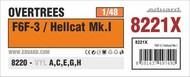 F6F-3 / Hellcat Mk.I OVERTREES #EDU8221X