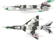 Eduard Models  1/48 MiG21MF Fighter (Wkd Edition Plastic Kit) EDU84126
