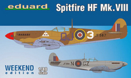 Spitfire HF Mk VIII Fighter (Wkd Edition Plastic Kit) #EDU84132