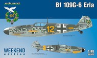 Eduard Models  1/48 Bf.109G-6 Erla Fighter (Wkd Edition Plastic Kit) EDU84142