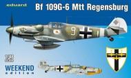 Eduard Models  1/48 Bf.109G-6 Mtt Regensburg Fighter (Wkd Edition Plastic Kit) EDU84143