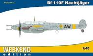 Eduard Models  1/48 Bf.110F Nachtjager Fighter (Wkd Edition Plastic Kit) EDU84145