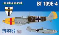 Bf.109E-4 Aircraft (Wkd Edition Plastic Kit) #EDU84153
